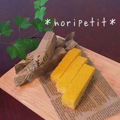 簡単♡かぼちゃスティックチーズケーキ by noripetit [クックパッド] 簡単おいしいみんなのレシピが249万品