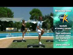 esercizio step bruciagrassi 03 - YouTube