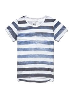 Religion T Shirt with Cloudy Stripe