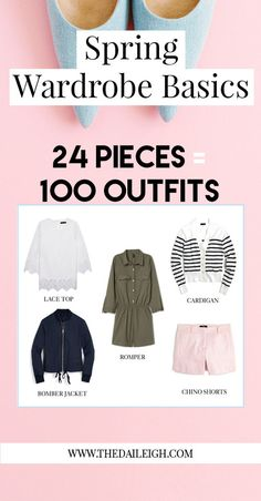 Spring Wardrobe Basics