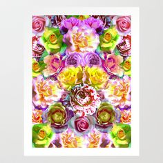 Rose Bloom Art Print by PatternPeople - $65.48