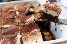 Latte Macchiato Brownies