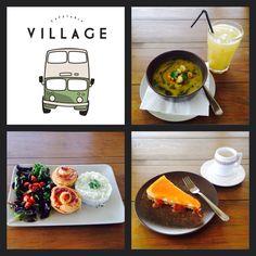Um maravilhoso almoço na Cafetaria Village