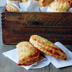 These best-ever peach hand pies get flavor from fresh peaches, ground cinnamon, vanilla and more. Get the recipe from Food & Wine.