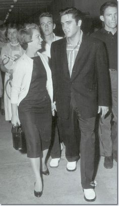 September 13, 1957 Elvis went out to Memphis Municipal Airport to pick up Anita Wood who arrived from   Hollywood on an American Airline.