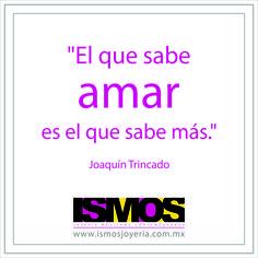 Joaquín Trincado hablando de amor // ISMOS Joyería