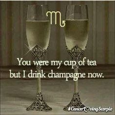 I'm not too crazy about champagne either but damn this good! ♏™