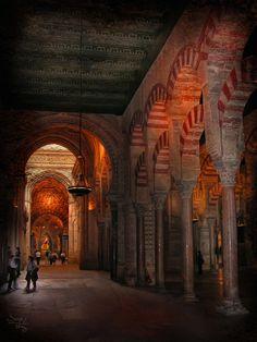 La Mezquita Catedral de Córdoba,Spain