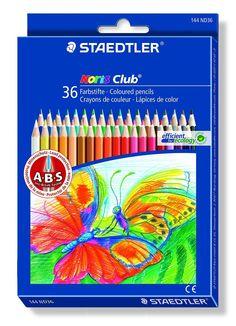 Staedtler Noris Club 144 Etui carton de 36 crayons de Couleurs assorties: Amazon.fr: Fournitures de bureau