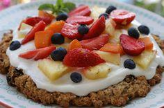 Afternoon Tea: Croustade de muesli aux fruits