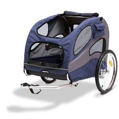 The HoundAbout Large Pet Bicycle Trailer For Pets Up To 110 Pounds. Our Large Track'r Bicycle Trailer and Pet Stroller is a great way to maintain an active lifestyle with your pet. Dog Bike Trailer, Bike Trailers, Biking With Dog, Dog Stroller, Cat Cages, Luxury Store, Mini Dogs, Cat Carrier, Doge