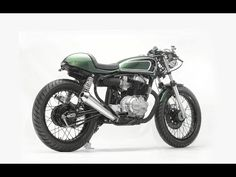 Honda CM400T Cafe Racer by Cafe Creations & Customs - YouTube