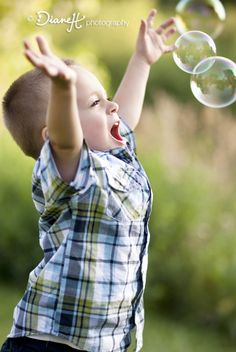 Two Year Old Boy Photo Shoot with bubbles, bumblebee, and bridge {St Paul, Minnesota Family & Child Photographer} » DianeH Photography