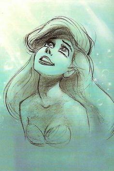 Little Mermaid, perfect shading