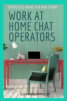 Non-phone work at home jobs as a chat operator with Outplex Need a non-phone work from home position? Outplex is hiring! These text chat positions are perfect for those who enjoy customer service but without the phone. Make money from home helping others. Amazon Work From Home, Work From Home Tips, Stay At Home Mom, Working From Home Meme, Work From Home Companies, Work From Home Opportunities, Business Opportunities, Jobs Uk, Home Jobs