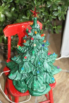 79 Best Ceramic Christmas Tree Base Images In 2017 Christmas Tree