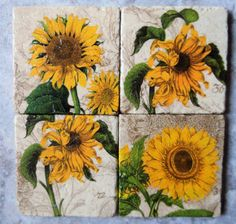 Sunflower Décor For Serenity Ambience » Cool Sunflower Kitchen