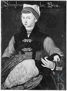 Onderdeel van de reeks 'Afbeeldingen van Nederlandse klederdrachten uit het derde kwart van de zestiende eeuw'. Benningbroek #NoordHolland #WestFriesland