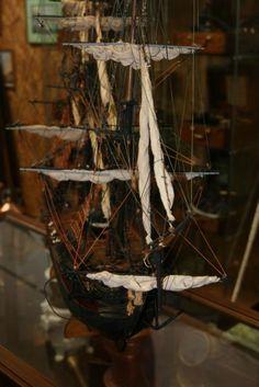 Maquette du voilier Saint-Géran, Compagnie des Indes