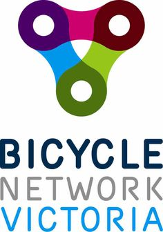 Lovely logo for Bicycle Network Victoria by Melbourne's Helsinki Agency.