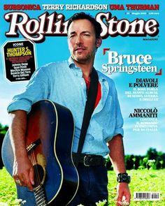 I primi 100 numeri di Rolling Stone. N°19 - maggio 2005. Bruce @springsteen in copertina #cover
