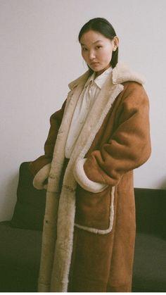 Sheepskin Coat, Fur Coat, Jackets, Fashion, Down Jackets, Moda, Shearling Coat, Fashion Styles, Fashion Illustrations
