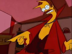 File:The Devil and Homer Simpson Ned Flanders, Simpsons Meme, Simpsons Art, Simpson Wave, Simpsons Halloween, Rick And Morty Poster, Gifs, Cartoon Background, Halloween Items