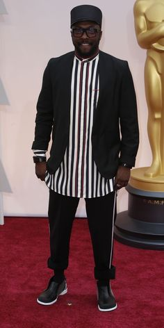 #oscarfashion FEBRUARY 22, 2015 Will.i.am.  Noel West for The New York Times