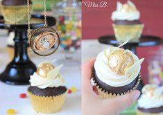 Miss Blueberrymuffin's kitchen: Magische Harry Potter Cupcakes [Goldener Schnatz]