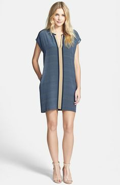 Vince Print Shift Dress available at #Nordstrom
