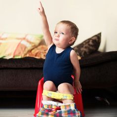 One mom reveals her secret on potty training in 4 days.