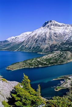 Waterton Lakes by Cliff LeSergent ~ Waterton Lakes National Park, Alberta, Canada*