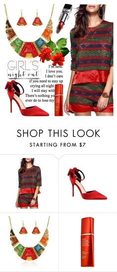 """T2/1"" by jecakns ❤ liked on Polyvore featuring Estée Lauder and girlsnightout"