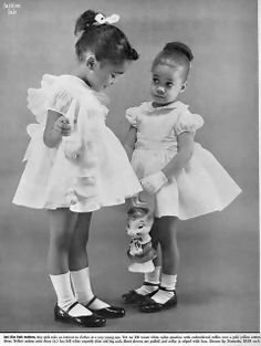 African American Children Recorded Throughout History | Collar City Brownstone The way little girls USED to be dressed. How cute and charming!!!! qb