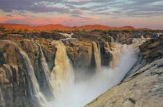 Augrabies Falls National Park, Northern Cape, South Africa // 14 Hidden Places in South Africa That Will Actually Change Your Life Hidden Places, Places To Visit, Lonely Planet, Augrabies Falls, Beautiful Waterfalls, Luxury Travel, State Parks, South Africa, Beautiful Places