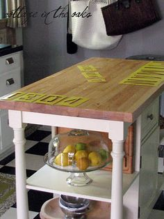 combine this with the double layer idea!! love reclaimed wood ...