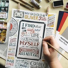 A compilation of my recent works from Calligraphy Quotes Doodles, Brush Lettering Quotes, Hand Lettering Quotes, Types Of Lettering, Calligraphy Letters, Lettering Design, Typography, Lettering Ideas, Modern Calligraphy