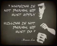 Bruce Lee . . . .