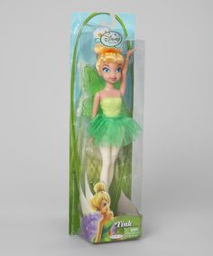 Take a look at this Green Tinkerbell Doll by Disney on #zulily today!