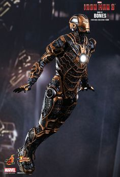 Hot Toys : Iron Man 3 - Bones (Mark XLI) 1/6th scale Collectible Figure ↩☾それはすぐに私は行くべきである。 ∑(O_O;) ☕ upload is LG G5/2016.09.19 with ☯''地獄のテロリスト''☯ (о゚д゚о)♂