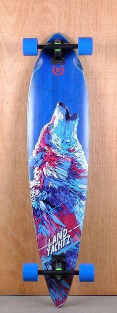 Wolf design of the new bord of Landyachtz