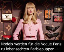 Life in plastic, it's fantastic: Die Barbie Modestrecke von Giampaolo Sgura in der französischen Vog