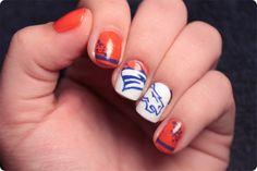 Superbowl Nails Part 1: Denver Broncos