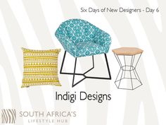 Six Days of New Designers - Meet, Indigi Designs, our new artist & designer to join SALH. New Artists, News Design, Africa, Designers, Join, Meet, Traditional, Contemporary, Day