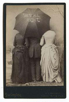1888 Benjamin Harrison campaign slogan. Cabinet card.