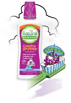 Our Cavity Zapper Mouth Rinse is American Dental Association approved & does not contain alcohol or artificial flavors & colors. How To Prevent Cavities, Children, Kids, Dental, Berries, Alcohol, Mom, Natural