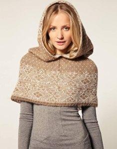 scarf hoodie