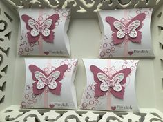Verspielte Pillow Box ~ STEMPEL...und deine Ideen werden wahr...