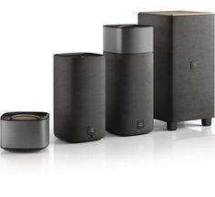 Philips Fidelio speakers bring real surround sound to home cinema with wireless detachable rear speakers and sub-woofer. Surround Sound, Entertainment System, Home Cinema 5.1, Sound Speaker, Speaker Design, Philips, Bluetooth Speakers, Rear Speakers, Audio System