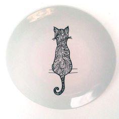 Prato Decorativo: CAT - Arte Comodità